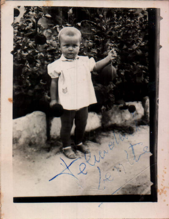 NIÑA PEQUEÑA - 1960