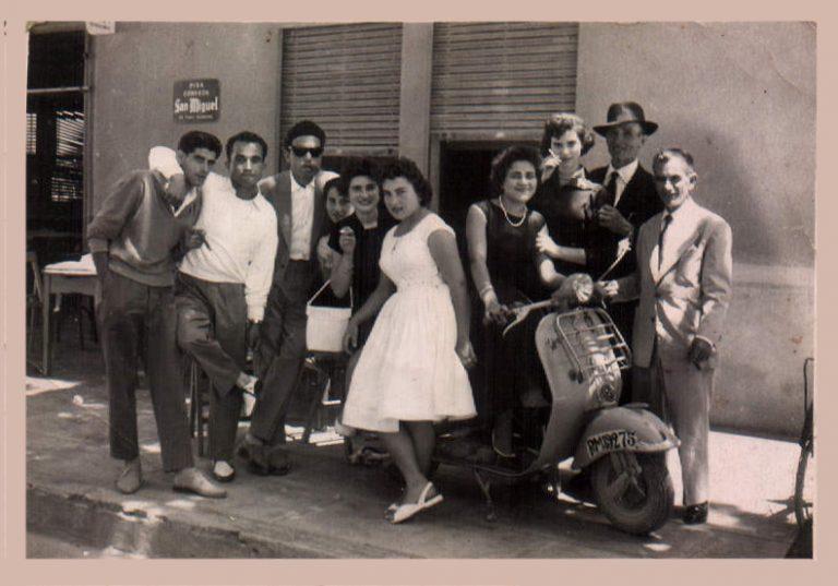 Grupo de amigos – 1958