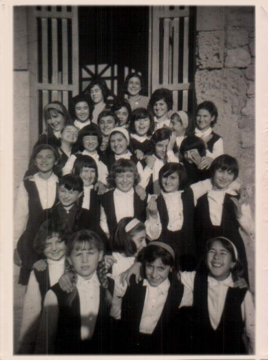 Escuela de Monjas de la Caridad – 1964